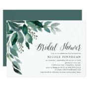 Abundant Foliage | Bridal Shower Invitation