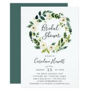 Alabaster Wreath Bridal Shower