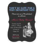 Alice In Wonderland Bridal Shower Custom Vintage