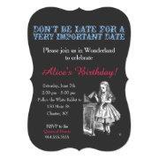 Alice In Wonderland Birthday Party Custom Vintage