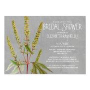 Ambrosia Bridal Shower Invitations Announcement