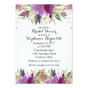 Amethyst Spring Floral Bridal Shower