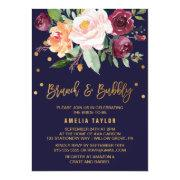 Autumn Floral With Wreath Backing Brunch & Bubbly