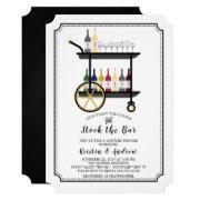 Bar Cart Stock The Bar Couples Shower