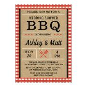 Bbq Bridal Shower Invitation