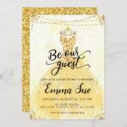 Be Our Guest Beauty And The Beast Bridal Shower Invitation