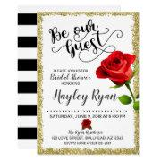 Be Our Guest Bridal Shower