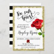 Be Our Guest Bridal Shower Invitation
