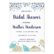 Beach Bridal Shower Invite