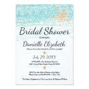 Beach Themed Starfish Bridal Shower
