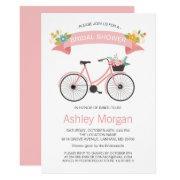 Bicycle Classy Chic Blush Pink Bridal Shower