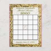 Bingo  - Gold Sequins