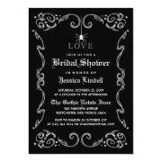 Black White Halloween Wedding Gothic Bridal Shower