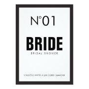 Black & White Paris Theme Bridal Shower Party