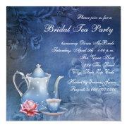 Blue Bridal Tea Party