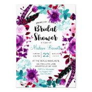 Boho Chic Floral Wreath Bridal Shower