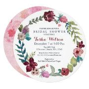 Boho Floral Garden Bridal Shower