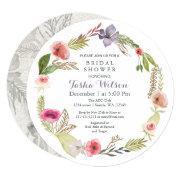 Boho Floral Garden Bridal Shower