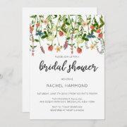 Botanical Garden Bridal Shower Invitation