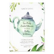 Botanical Tea Party Bridal Shower