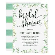 Botanical Touch Bridal Shower