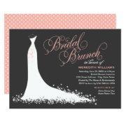 Bridal Brunch  | Elegant Wedding Gown