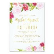 Bridal Brunch Shower  Blush And Gold