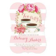Bridal Floral Tea Party