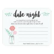 Bridal Shower Date Night Idea  | Mason Jar