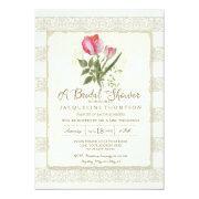 Bridal Shower Elegant Garden Floral Tulips Wedding