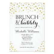 Bridal Shower  / Brunch & Bubbly Invite