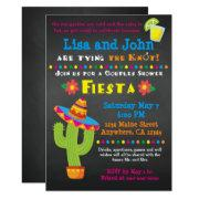 Bridal Shower Invitation- Couples, Fiesta