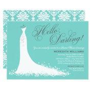 Bridal Shower  | Elegant Wedding Gown