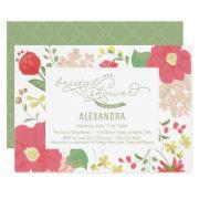 Bridal Shower  - Garden, Floral, Spring