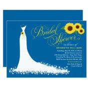 Bridal Shower  | Sunflower Wedding Gown