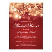 Bridal Shower Sparkling Lights Gold