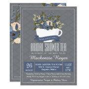 Bridal Shower Tea Invitation, Tea Party