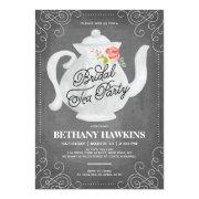 Bridal Tea Party | Bridal Shower Invitation