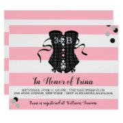 Bride & Bridesmaids Ohh Lala Lingerie Shower Party Invitation