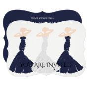 Bride & Co Navy Bridesmaid Bridal Party