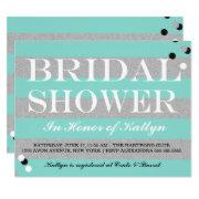 Bride & Co Silver & Teal Bridal Shower