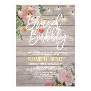 Brunch Bubbly Bridal Shower Floral String Lights