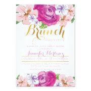 Brunch & Bubbly Floral Bridal Shower