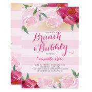 Brunch & Bubbly Flowers Bridal Shower