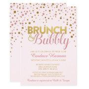 Brunch & Bubbly Glitter Bridal Shower