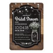 Burlap Bridal Breath Wooden Wedding Bridal Shower