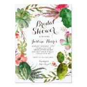 Cactus, Bridal Shower  Succulents,