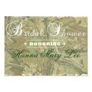 Camo Elegant Bridal Shower