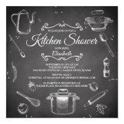 Chalkboard Kitchen Bridal Shower