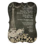 Chalkboard Vintage Paris Parisian Bridal Shower